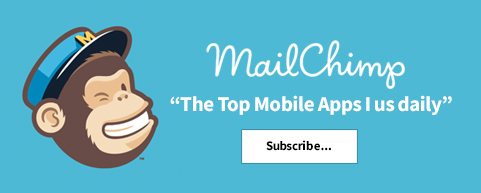 MailChimp-top-mobile-apps Facebook - Top mobile apps that I use everyday!